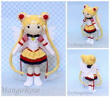 Eternal Sailor Moon Amigurumi Crochet Doll by xMangoRose