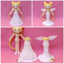 Princess and Neo Queen Serenity Doll with Outfits