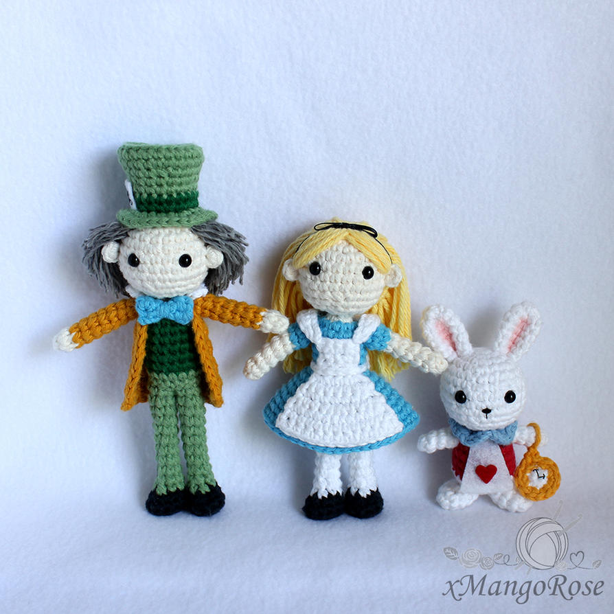 Mad Hatter Amigurumi Doll from Alice in Wonderland by ...