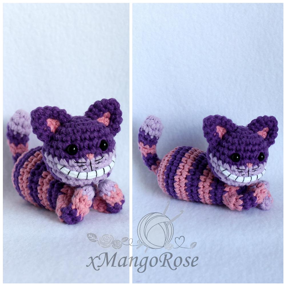 Cheshire Cat of Alice in Wonderland - Sayjai Amigurumi Crochet ... | 1001x1001