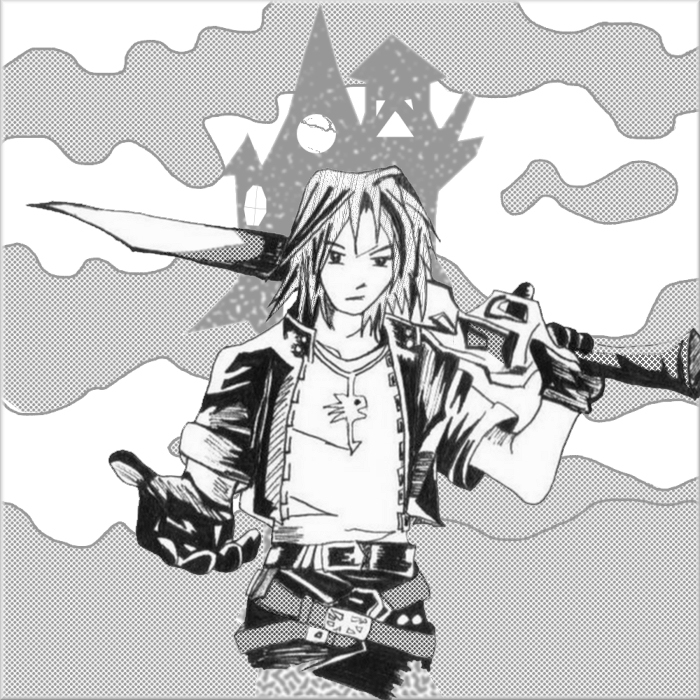 Leon Kingdom Hearts Or FF By Princekarr On DeviantArt