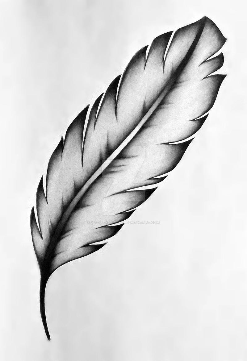 Native Feather Tattoos Designs