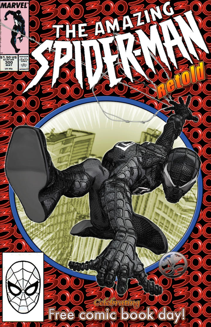 The Retelling of Amazing Spider-Man #300 Cover by LittleShaolin on ...