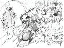 The Flames of Sekhmet