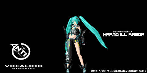 ANTI WORLD (HI-APPEND) MIKU HATSUNE