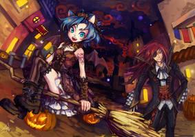 Halloween2012 by DarkHHHHHH