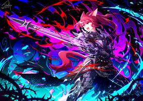 FFXIV - Dark Knight by DarkHHHHHH
