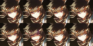 OC - Iondubh (expressions) by DarkHHHHHH