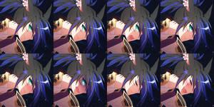 FFXIV - Kat (expressions) by DarkHHHHHH