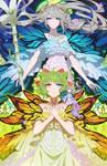 FFXIV - Primula and Titania