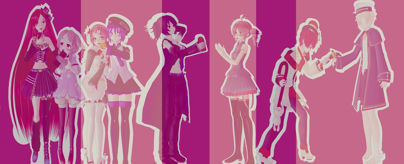 Pink e Purple LGBTTQQ+... Pride by NastyLemon