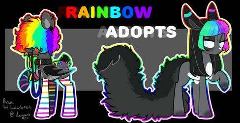 Rainbow Adopt open