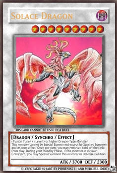 Solace Dragon Card