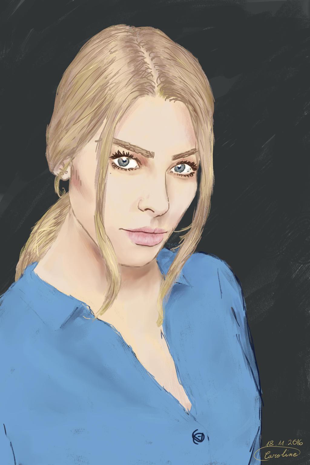 Lauren German by Lola-...