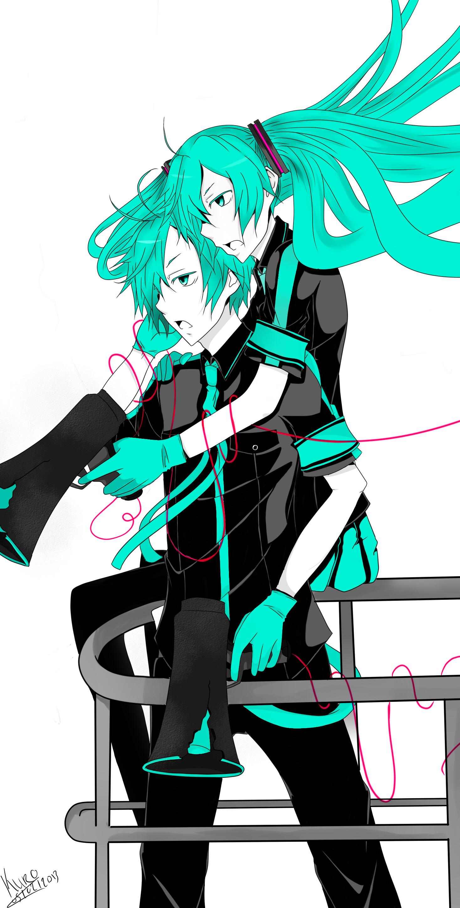 hatsune miku and hatsune mikuo love is war by