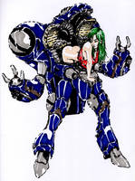Miriya - Robotech/Macross (Alternate Armor) by Guido9