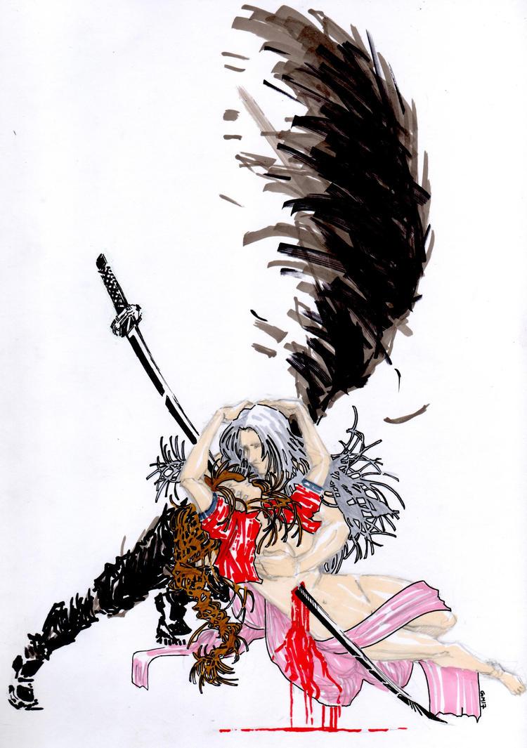 Aerith's death by Guido9