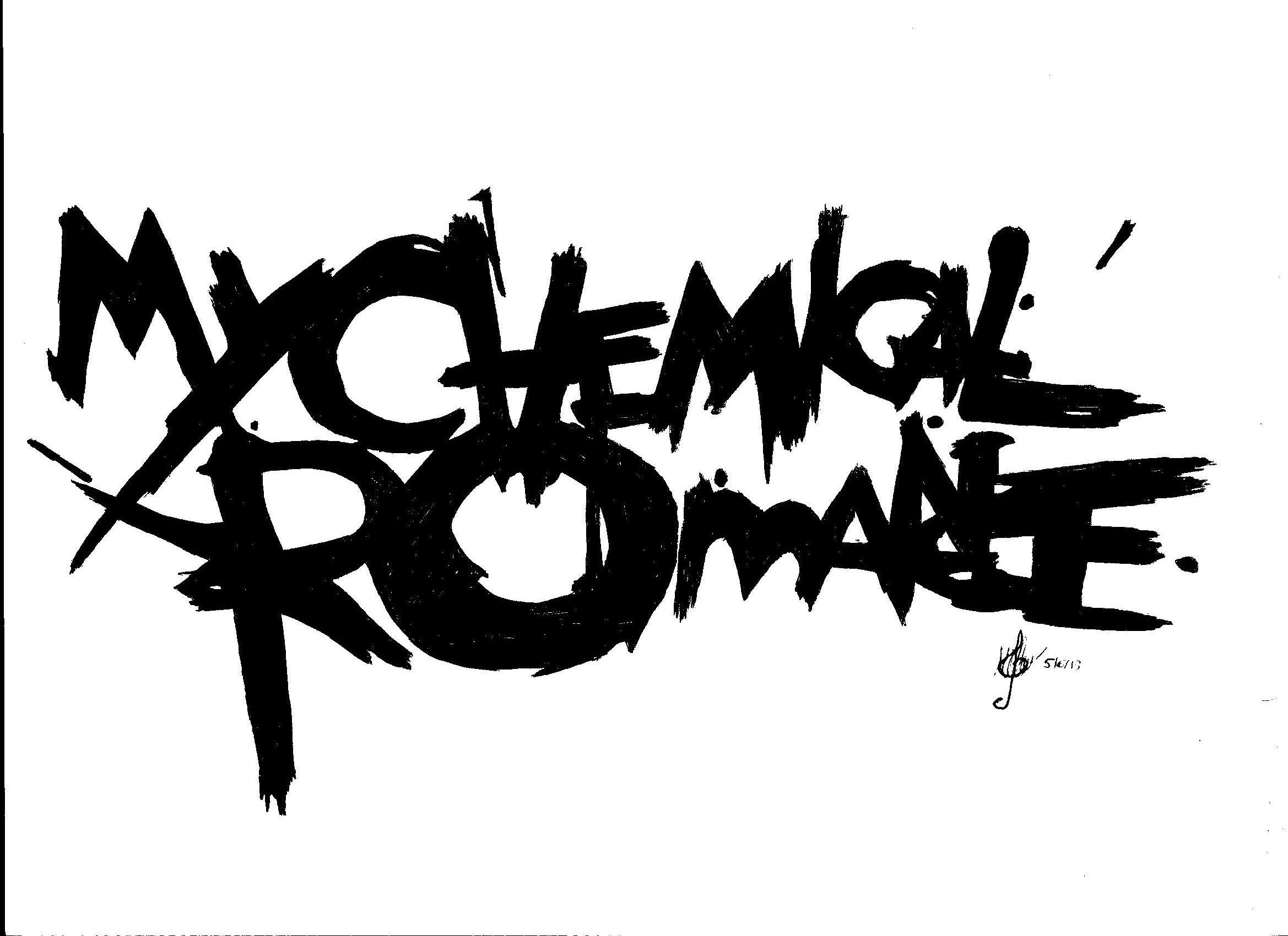 My Chemical Romance Band Logo