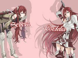 Fire Emblem Awakening - Severa and Cordelia by JackS22587