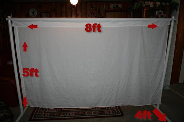 Diy Backdrop Stand By Thekid23 On Deviantart