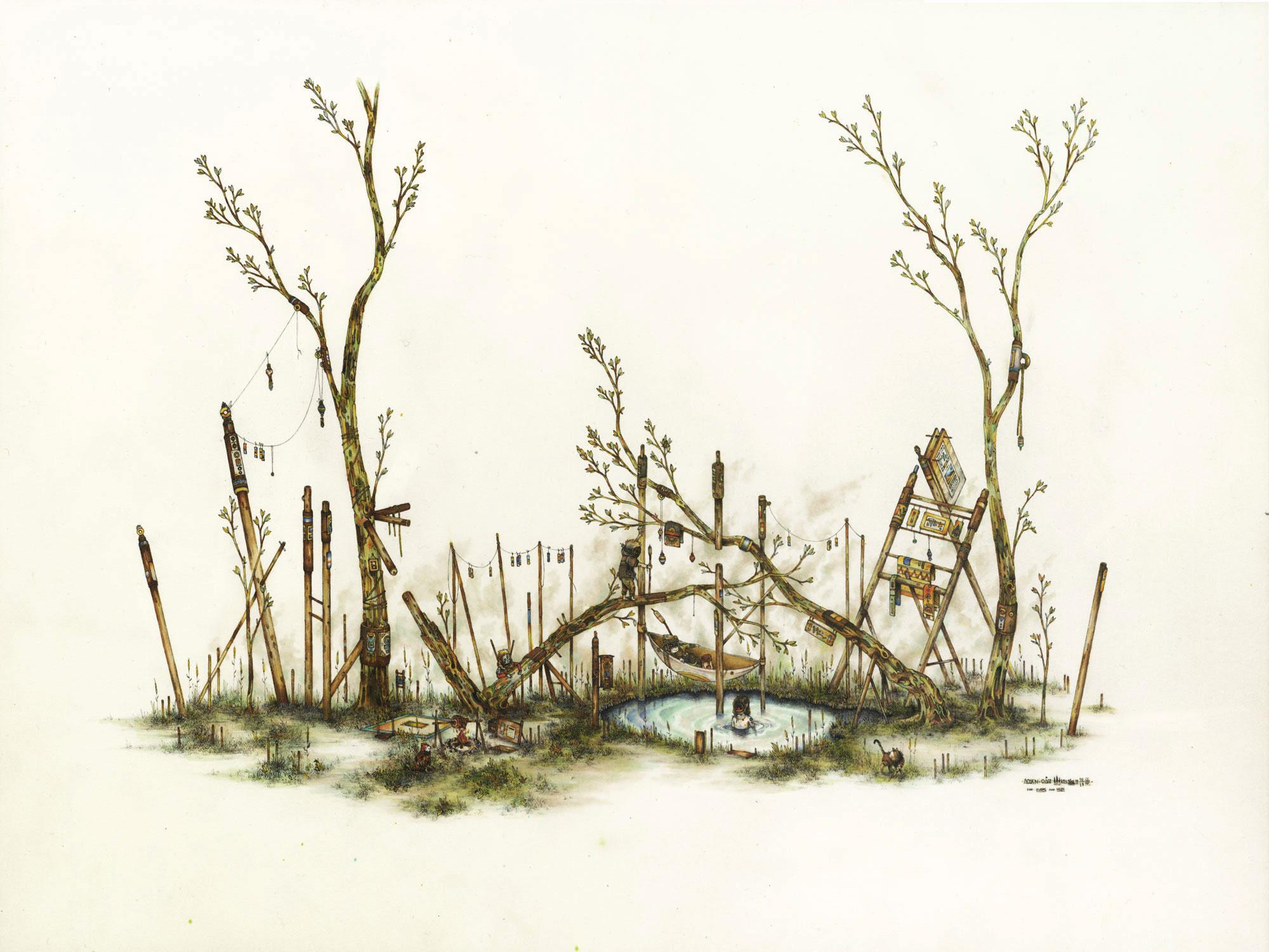 Jurgewald by oakyoh