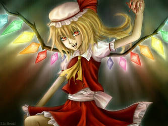 Flandre Scarlet: The Sister of the Devil by RedLadyMercenary