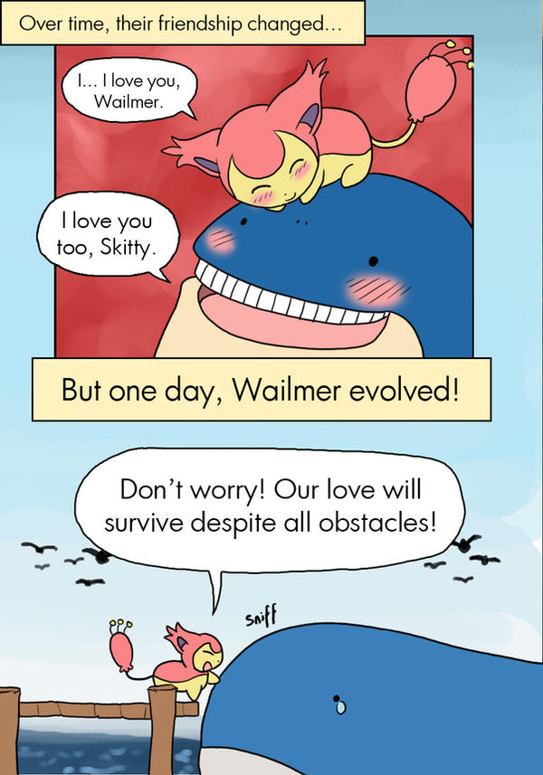Never meant to be 3 by leedom111 on deviantart - Pokemon x wailord ...