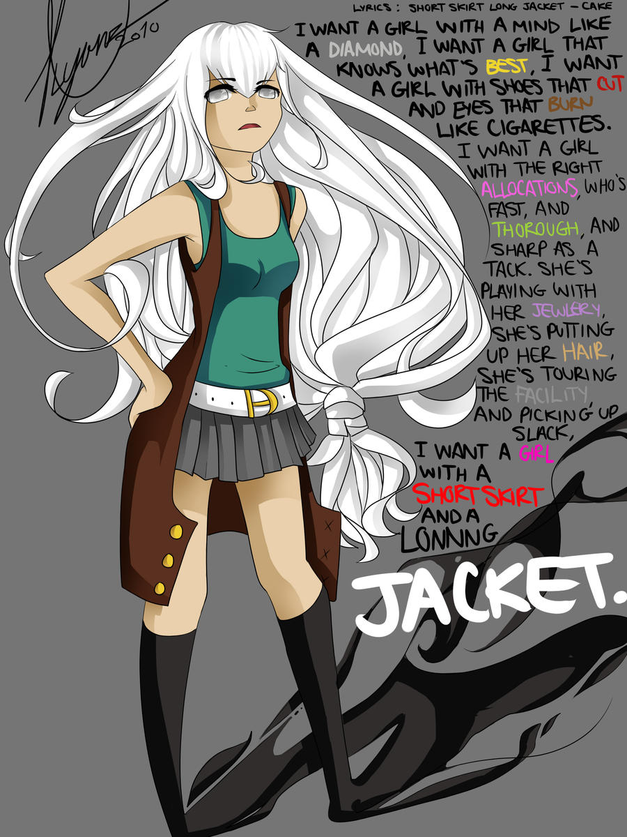 Short Skirt, Long Jacket by Leechuts on DeviantArt
