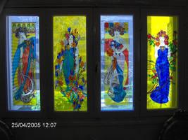 Art Nouveau Window by mohamed-ufo