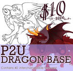 P2U Dragon Base pack - $10
