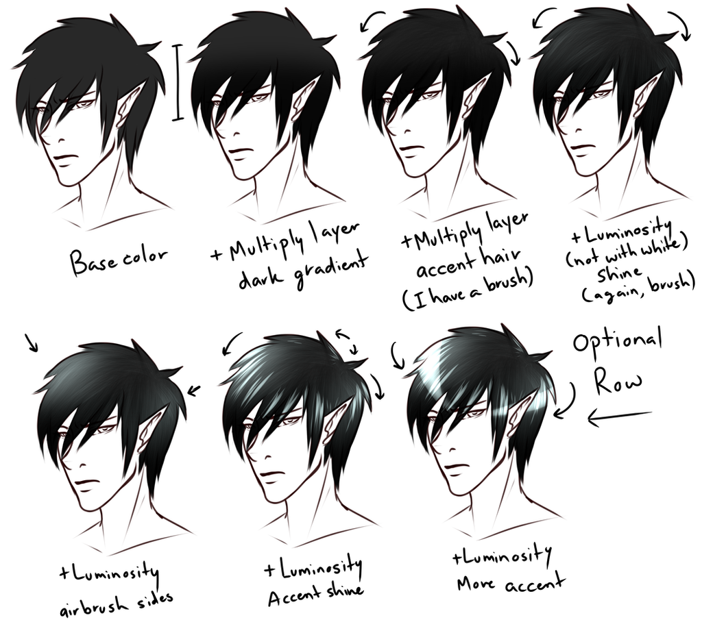 Art color hair -  How I Color Hair By Blackwolf008