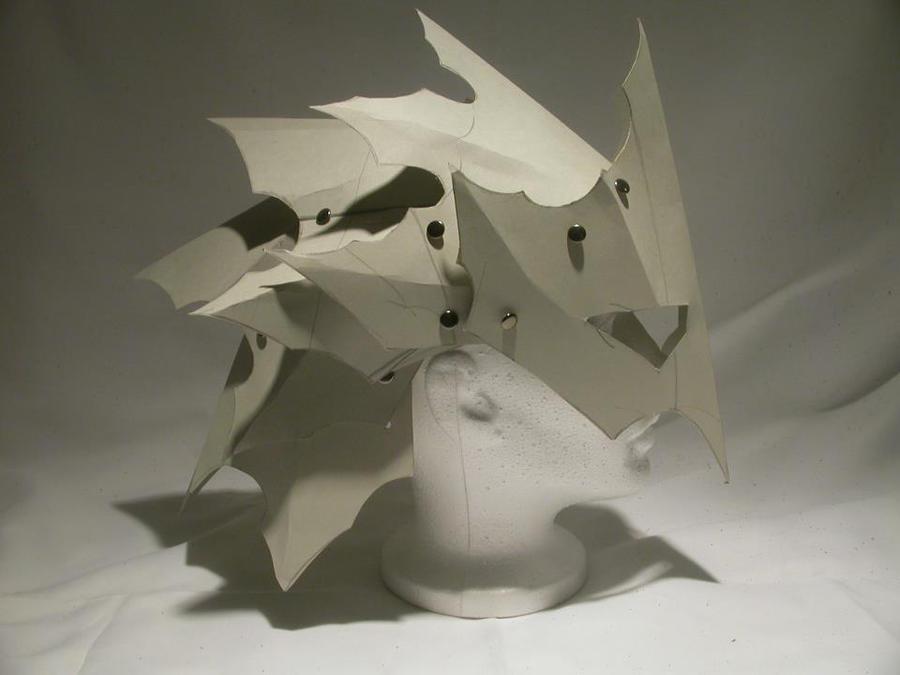 Goblin helm pattern by Feral-Workshop