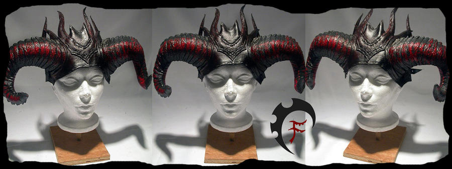 Demonic crown by Feral-Workshop