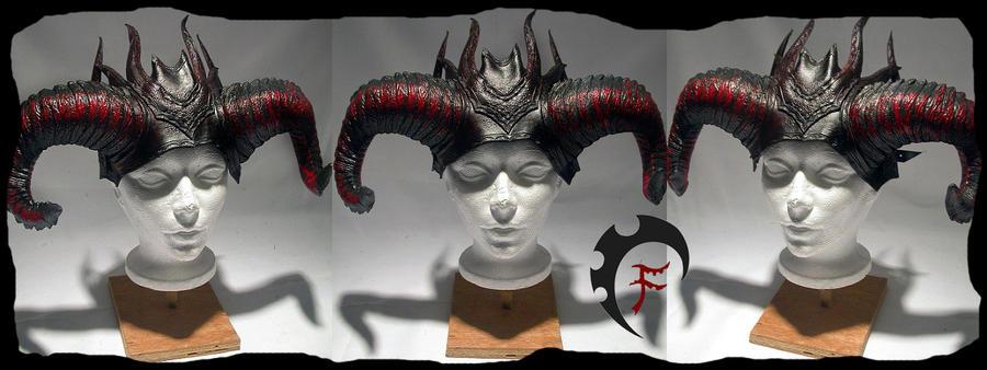 Demonic crown by Feral-Workshop