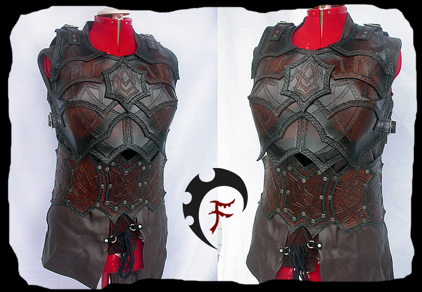 Female Bandit armor by Feral-Workshop