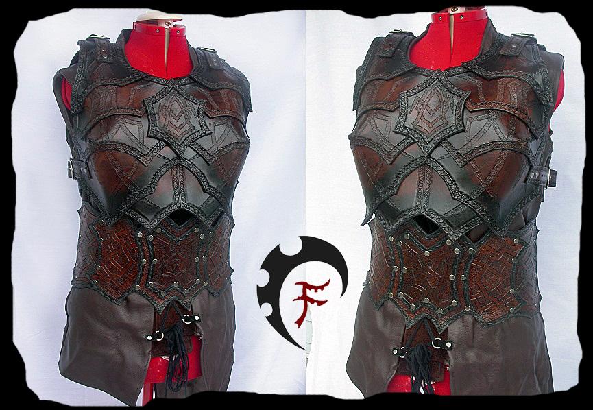 Female Bandit armor by Feral-Workshop
