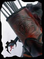 Bandit quiver carvings by Feral-Workshop