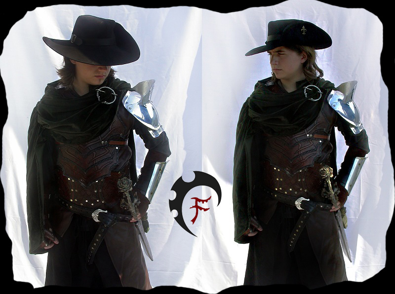 Male Bandit armor by Feral-Workshop