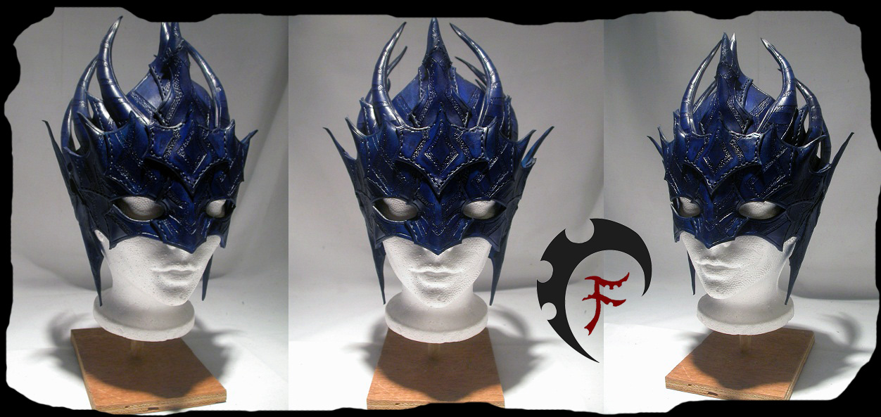 Archon mask by Feral-Workshop