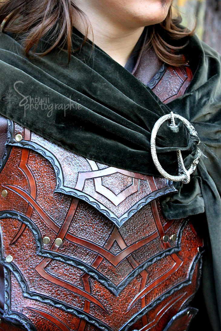 Bandit armor close up by Feral-Workshop