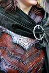 Bandit armor close up