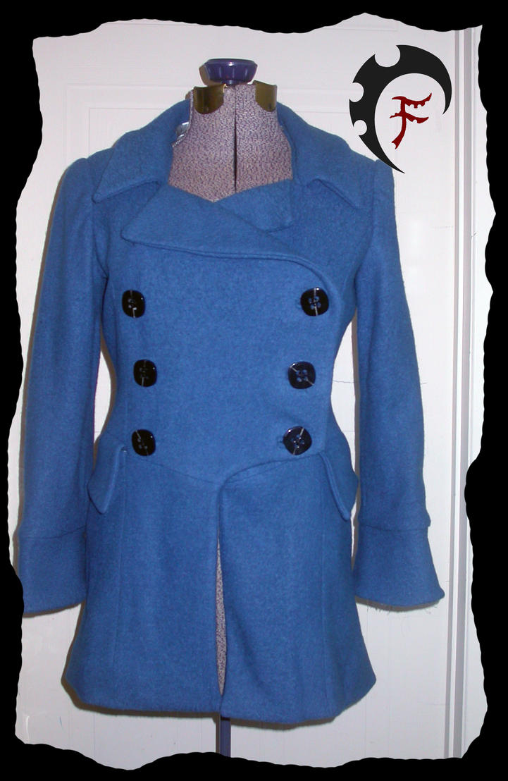 Blue winter coat by Feral-Workshop