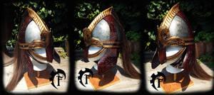 Rohirrim viking helm