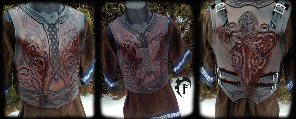 Deep Sea Celtic Armor by Feral-Workshop