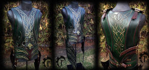 Elf leather armor