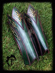 Elvish leather greaves
