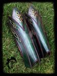Elvish leather greaves