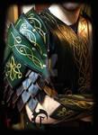 Elvish spaulders