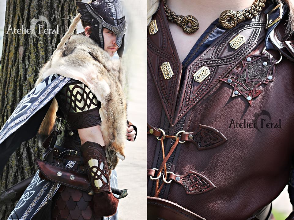 Griffon celtic armor by Feral-Workshop