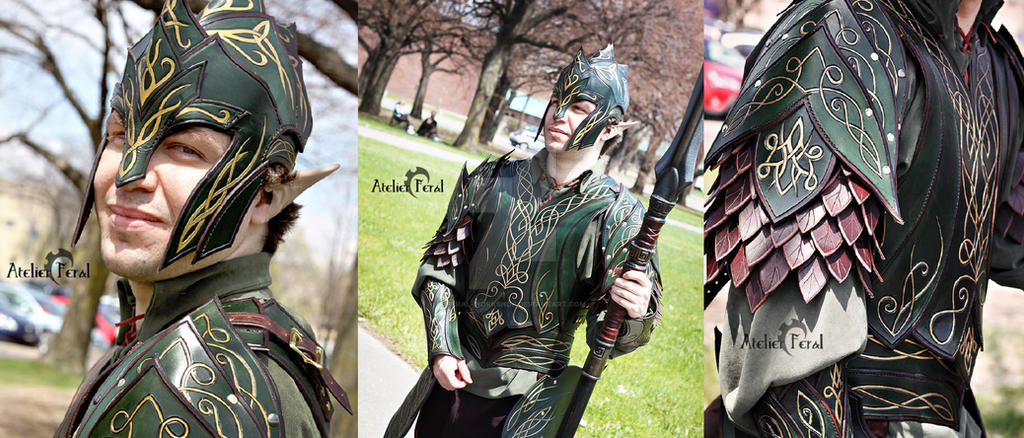 Elf armor :D by Feral-Workshop